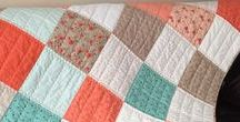 My Etsy Shop / All items are handmade by me (Heather).  My passion is for quilts but also love making table runners, totes, zipper pouches and baby blankets.  I am willing to take custom orders as long as it is line with items that I have already made.