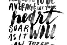 INSPIRATION | words