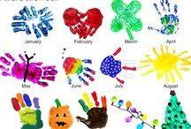 Handprint art / by Minerva Drinkard