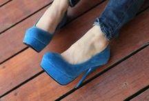 Blue Shoes.