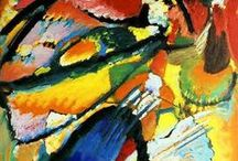 Kandinsky - First Abstract Painter