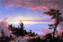 Frederic Edwin Church / American Landscape Painter, central figure in Hudson River School