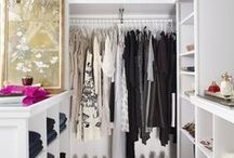 Closet Goals / From insanely awesome interiors to our favorite organization hacks, tips, and tricks!