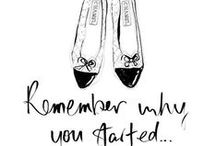Illustration & Quotes / Pretty doodles and inspiration quotes
