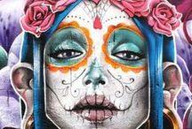 Bohemian Aesthetics  / Graffiti, Street Art, Body Art and others
