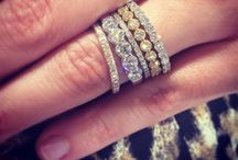 Baubles and Sparkles / bold earrings and pretty stacks  / by Summer Ann
