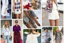 Street Style Collections / My favourite pins in beautiful collages