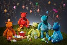 Various Velvet Collection Bears / Taunina Velvet Bears