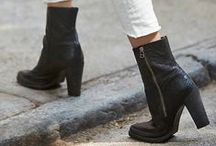 Short boots.