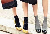 Socks×Pumps.