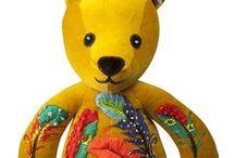 Cirque Velvet Collection / Taunina Bears in our Cirque Collection