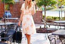 Street Style : Dresses