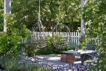 Puutarhan rakenteet ja ulkosisustaminen