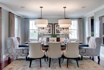 Home: Dining and Eating Areas / Let's have a meal together.  For more inspiring things, visit lifestylefilesblog.com. / by Carrie Hampton | LifeStyleFiles