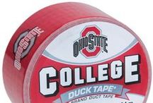 College Duck Tape / Now you can fix up your tailgate and cheer on your team with true sportsmanlike conduct. Officially licensed College Duck Tape® Brand Duct Tape, featuring favorite team logos and mascots, makes it fun and functional to get into the game-day spirit. Liven up your next tailgate party, make repairs around the home and more with this festive fix-all. / by Duck Brand