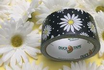 Printed Duct Tape / Duck® brand duct tape is available in a trendy assortment of patterns and designs that are a simple solution for your toughest and most creative craft or DIY projects.