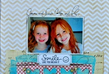 1 PHOTO SCRAPBOOK PAGES / #Scrapbook Pages with 1 photo. #Scrapbooking.