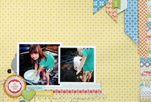2 PHOTO SCRAPBOOK PAGES
