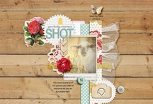 LAYOUT: CLUSTER / by Get It Scrapped (Debbie Hodge)