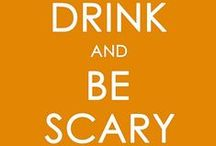 Eat, Drink, & Be Scary! - Halloween Treats / Halloween food and drinks / by Heather Hill