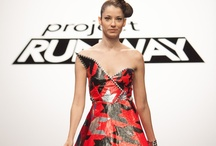 """Duck Tape on Project Runway / On Thursday, March 7, 2013, """"Project Runway"""" challenged the Season 11 designers to create prom night looks made primarily using Duck Tape®, inspired by the Stuck at Prom® Scholarship Contest. For more inspiration for your own Duck Tape prom night fashion, visit http://stuckatprom.com / by Duck Brand"""
