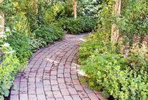 Walk into the garden