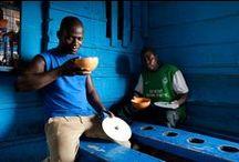 Ghana in blue / #Ghana in #blue le #Ghana en #bleu