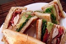 Food: Sandwiches & Such / Collection of yummy sammy's and lunch type items.  / by Carrie Hampton   LifeStyleFiles