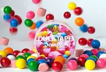 Scented Duct Tape / Now your Duck Tape projects can smell as good as they look with the first-ever scented duct tape Duck Tape® Scents®. This tape offers a unique twist for your toughest and most creative craft and DIY projects. Engage your creativity and your nose with Duck Tape® Scents® and create, decorate and customize your space.
