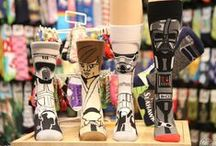 Socks | Gardner Village / Step foot into Sock City located in West Jordan, Utah and you'll find it's lined floor to ceiling and wall to wall with socks. With the huge assortment of styles and themes, these socks make you a shoe-in when it comes to finding the perfect personalized gift for anyone on your list.