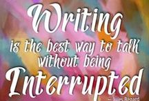 Writing Quotes / Fun and inspirational quotes for writers and authors about reading, writing, marketing and publishing. #amwriting