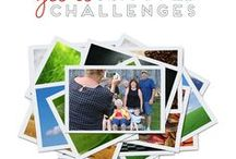 Get It Scrapped Challenges / Join us over at the Get It Scrapped community for our page prompts, photo challenges and annual Calvinball contest!