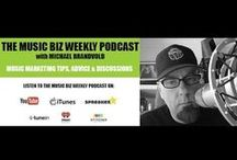 Music Biz Weekly Podcast / Episodes of the Music Biz Weekly podcast. Discussion around the latest music business events and music marketing techniques.