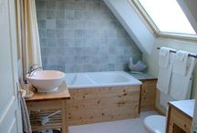 Salle de bains/bad/bathroom / by Anne Fra Sveits