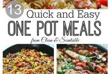 Easy dinners & Crockpot Meals / My go to for quick & easy meals  / by Charlene Becker