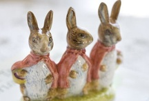 Beatrix Potter World - Peter Rabbit / Things that inspired Miss Potter to create her delightful Peter Rabbit & other tales, as well as things from the idyllic pastoral English land she knew.