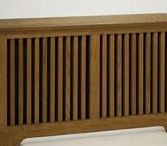 "RADIATOR COVERS :: tF / Create an attractive, finished and usable space by covering an unsightly radiator with a custom cover from transFORM. We offer ""made to fit"" radiator covers in traditional or contemporary styles in many finishes to compliment your home."