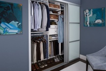 Reach-in Closets / The wide variety of design options and accessories we offer both expand and maximize the storage reach-in closets provide. The transFORM designer's goal is to increase the space of the reach-in and customize its use to meet the requirements of the customer. / by transFORM