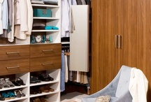 Walk-in Closets / Our talented designers offer beautiful finishes and options that make walk-in closets unique and functional spaces that homeowners may never want to leave! We listen to our discerning customers and work hard to create the custom design layout that will satisfy their exact needs and desires. / by transFORM