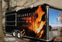Log Rolling Log Cabin Delaney House / Awesome upscale food catering at your location