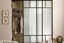 SLIDING DOORS :: tF / At transFORM,  we offer a variety of glass frames and finishes, glass types, door designs, and accessories. Our designers will work with you to create made-to-measure custom sliding doors or room dividers for your space.