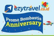 Promo Ezytravel / Dapatkan penawaran spesial dari Ezytravel berupa promo tiket pesawat, hotel, paket wisata dan lain-lain.