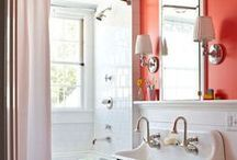 Inspo for our home: Bathroom / Para el baño de arriba / pcpal