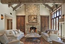 Fireplaces add warmth