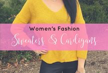 Sweaters & Cardigans for Women / All about sweater & cardigans for women. This board will have sweater outfits, cardigan outfit, fall sweater outfits, winter sweater outfits, fall cardigan outfits, winter cardigan outfits, and so much more.