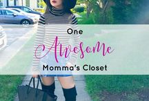 One Awesome Momma's Closet / Outfit ideas from all the outfits I've worn for any season - spring, summer, fall, winter, including accessories like shoes, handbags, scarves, hats and others. A peek into my style for some style inspiration on maternity fashion, fall outfits, fall fashion, winter fashion, winter style, spring outfits, spring fashion, summer outfits, summer fashion, mom fashion, and mom style.