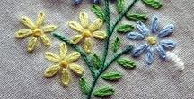 DIY: Sticken / Embroidery Ideas and Stitches