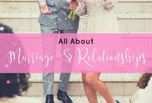 All About Marriage and Relationships / This board is all about relationships, marriage, tips & tricks in making a relationship or marriage work, and everything about love. This covers love quotes, relationship goals, relationship quotes, marriage advice, and marriage quotes.
