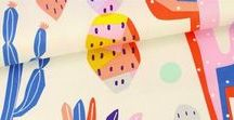 Stoff und Material zum Nähen (für Erwachsene) / Wishlist / Hier findest du neue Trends für Stoffe und Materialien rund ums Nähen. Ich mag vorallem Stoffe mit Blumenmustern, Ornamenten oder grafischen, modernen Mustern.