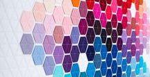 Rainbow Tiles / Ideas for re-tiling shop front of Leanna Lin's Wonderland